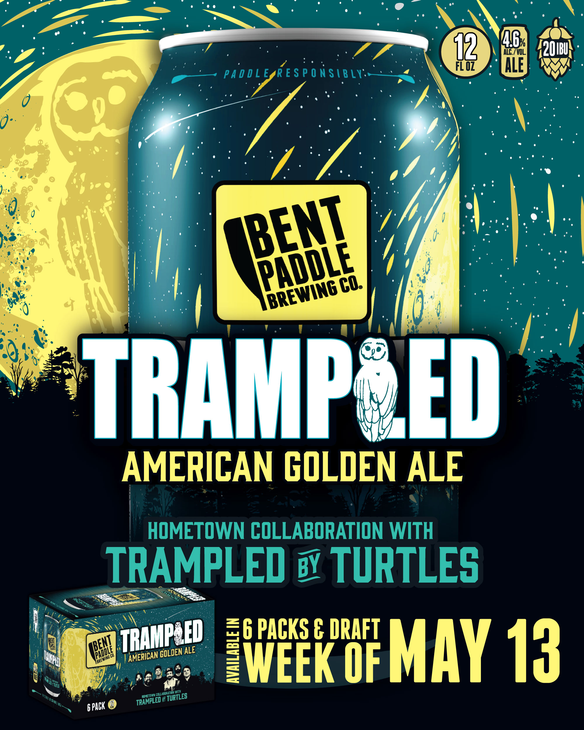 Trampled Golden Ale