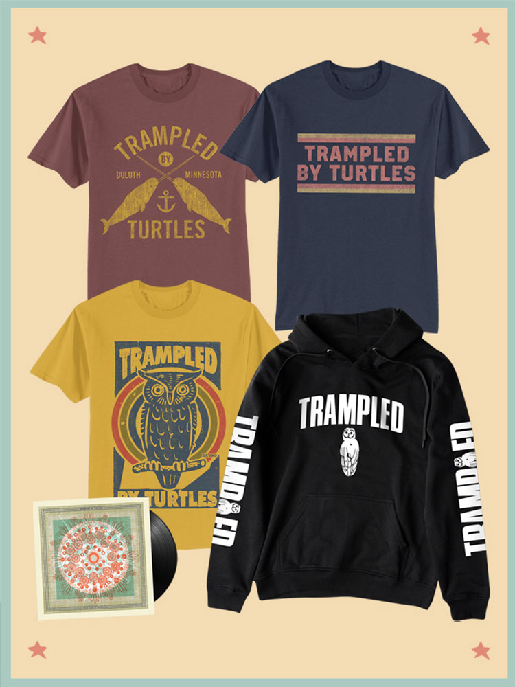 Trampled By Turtles merchandise