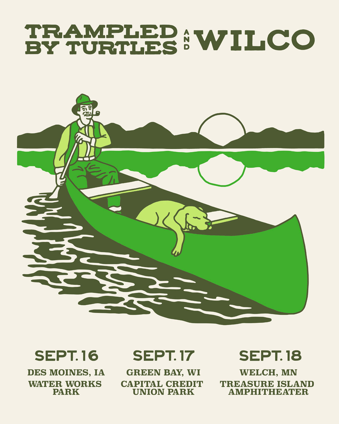 Trampled By Turtles and Wilco